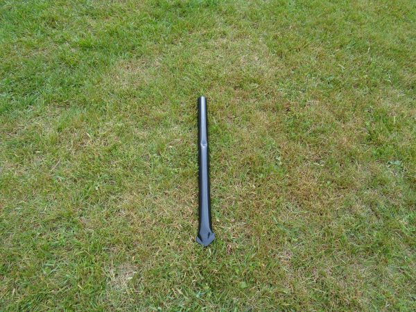 Post Sleeve, Black 1.9 inch